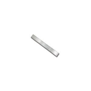 15.9x4.8mm Flat Dead Soft Sterling Silver Wire