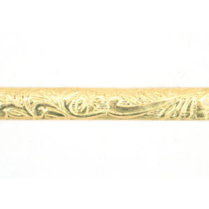 #1 12k Gold-Fill Floral Pattern Wire