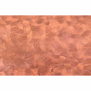 Satin Swirl Copper Pattern Sheet