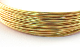 Yellow Brass Round Wire
