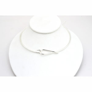 Front Loop Mexican Silver Choker