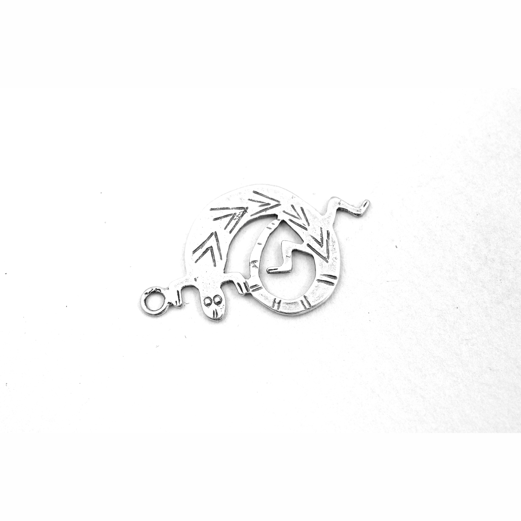Sterling Silver Lizard Charm