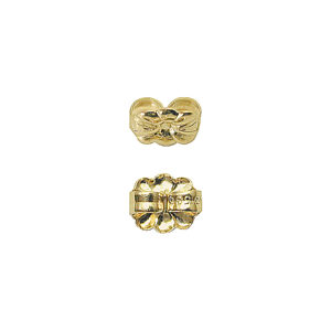 6mm 14k Gold Flower Ear Nut