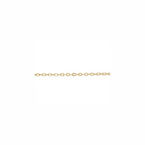 2mm Bulk Gold-Fill Cable Chain