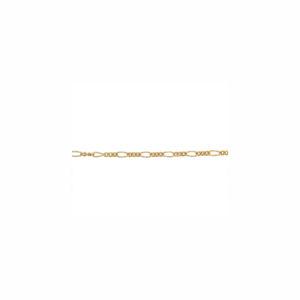 1.5mm Bulk Gold-Fill Figaro Chain