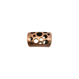 Cutout Tube Copper Spacer Beads