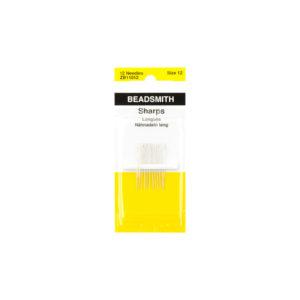 #12 Sharp English Needle 12 Pack