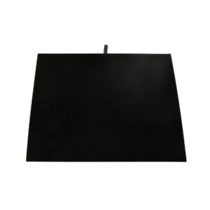 16 x 14in Black Brushed Cotton Display Pad