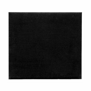 24 x 20in Black Brushed Cotton Display Pad