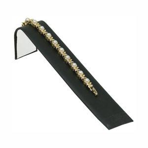 """8.25"""" x 2"""" Black Velveteen Bracelet Ramp"""