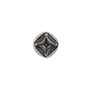 "1/4"" Curved Diamond Geometric Stamp"