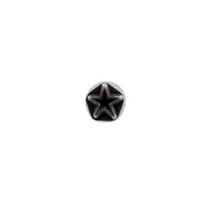 "1/4"" Star Geometric Stamp"