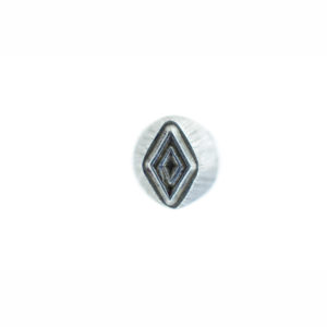 "1/4"" Diamond Geometric Stamp"
