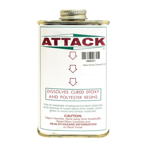 8oz Attack Epoxy Solvent