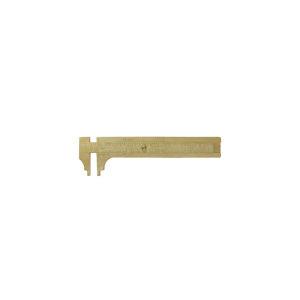 100mm Brass Pocket Slide Calliper