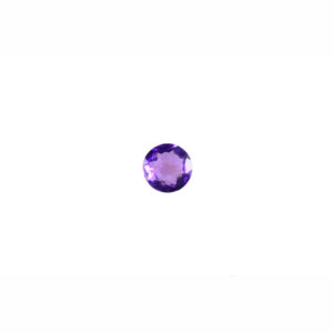 5mm Round Light Faceted Amethyst