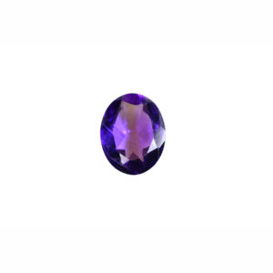 8x10mm Oval AA Faceted Amethyst