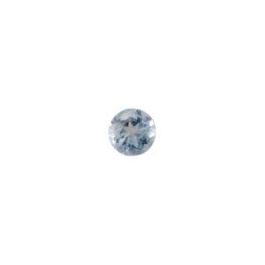 4mm Round Faceted Aquamarine