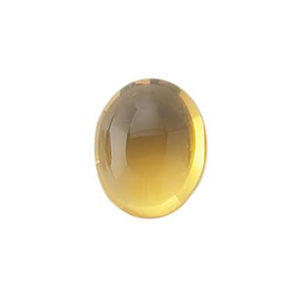 5X7mm Oval Citrine Cabochon