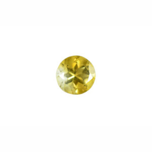 8mm Round AA Faceted Citrine