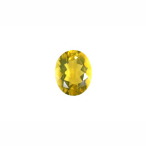8x10mm Oval AA Faceted Citrine