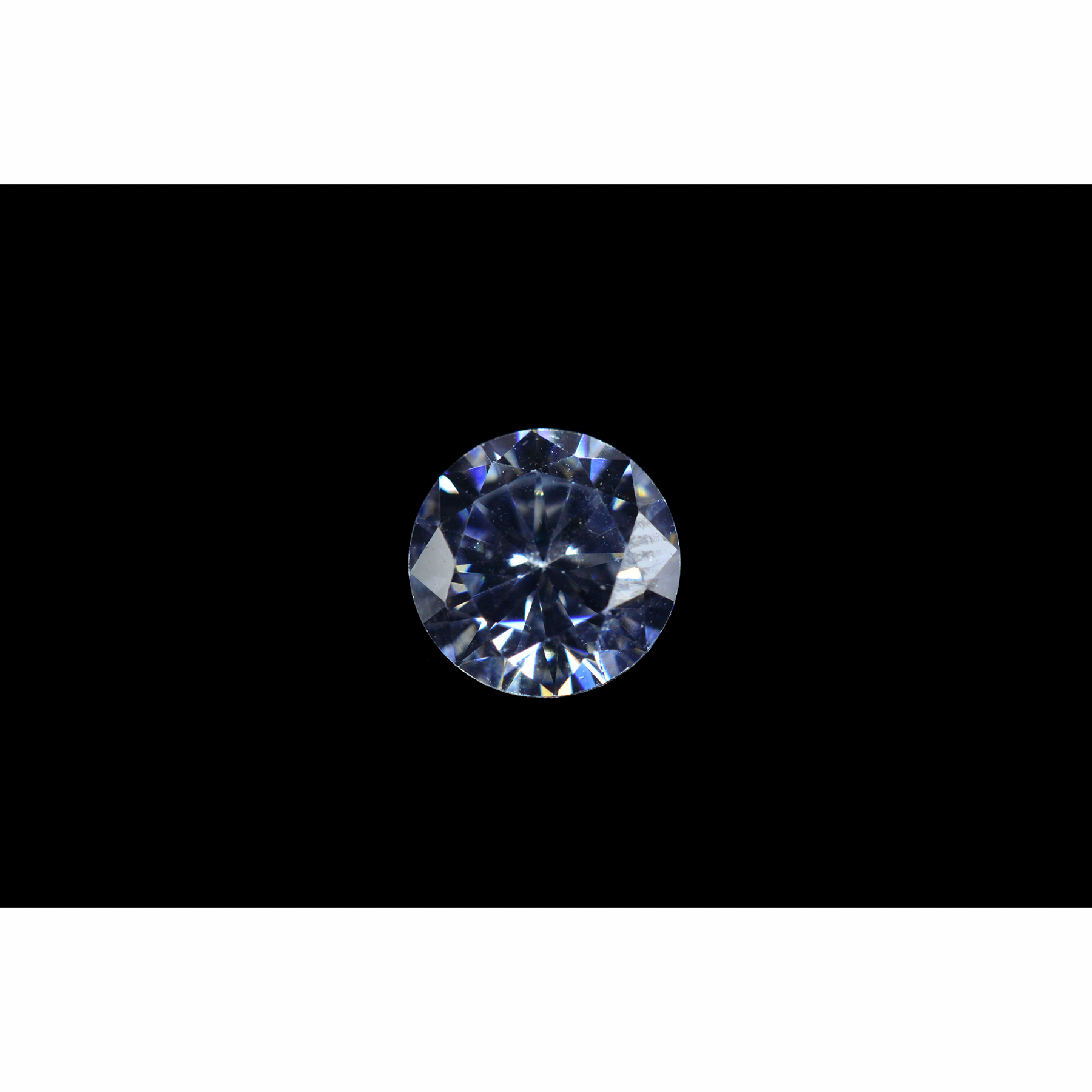 78a6a8fbc 4mm Round Faceted Cubic Zirconia - Santa Fe Jewelers Supply : Santa ...