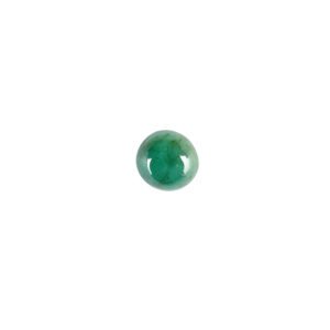 4mm Round A Emerald Cabochon