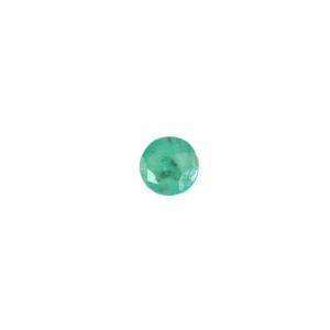 3mm Round Faceted Emerald