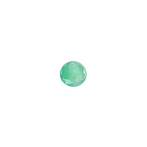 2.5mm Round Faceted Emerald