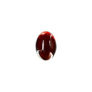 10x12mm Oval Garnet Cabochon