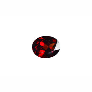 5X7mm Oval Faceted Garnet