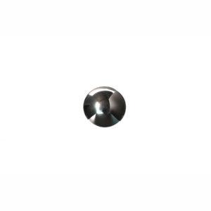 8mm Round Hematite Cabochon
