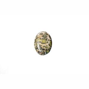 10x14mm Oval Leopard Skin Jasper Cabochon
