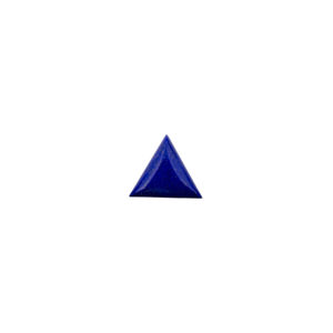 14x14mm Triangle AA Lapis Cabochon