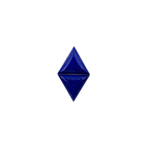 14mm Triangle Pair AA Lapis Cabochon