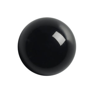 3mm Round Black Onyx Cabochon