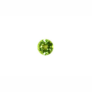 5mm Round AA Faceted Peridot
