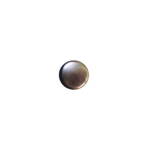 3mm Round Black Mother of Pearl Cabochon
