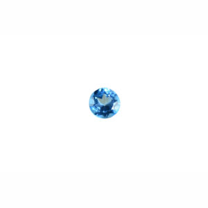 3mm Round AA Faceted Swiss Blue Topaz