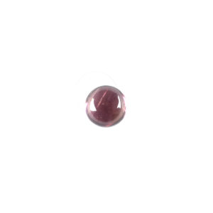 3mm Round Pink Tourmaline Cabochon