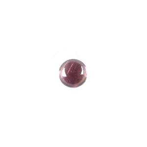 6mm Round Pink Tourmaline Cabochon