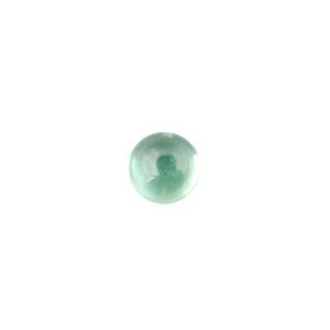 5mm Round Light Green Cubic Zirconia Cabochon