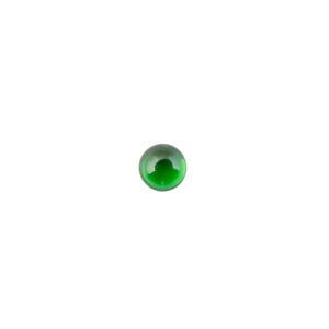 5mm Round Emerald Cubic Zirconia Cabochon