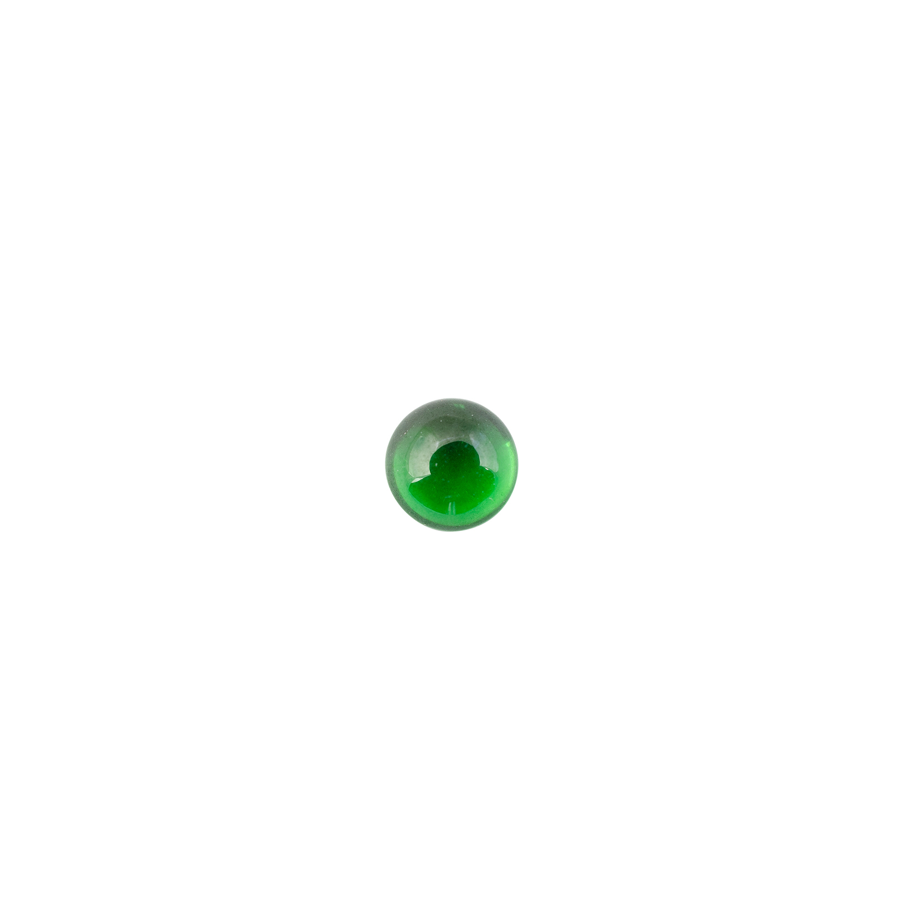 Natural Emerald Round Cabochon 2.5 to 5MM