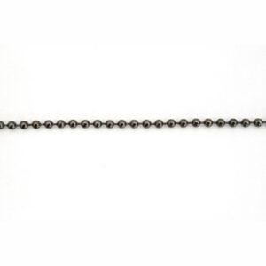 2.4mm Bulk Gunmetal Ball Chain