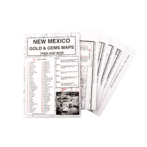 THEN & NOW MAP SERIES: NEW MEXICO GOLD & GEMS
