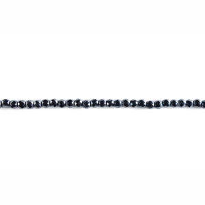 2mm Faceted Round Hematite Bead Strand
